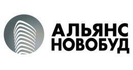Логотип строительной компании Альянс Новобуд