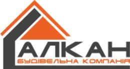 Логотип строительной компании Алкан