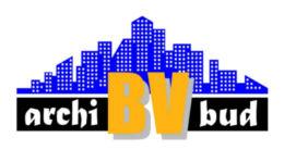 Логотип будівельної компанії Archi-BV bud (Арчі БВ Буд)