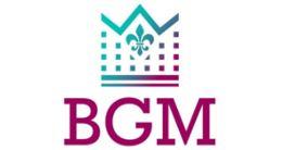 Логотип будівельної компанії BGM
