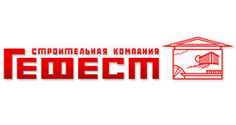 Логотип будівельної компанії БК Гефест