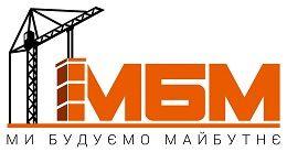 Логотип будівельної компанії БК МБМ
