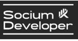 Логотип будівельної компанії БК Socium Developer