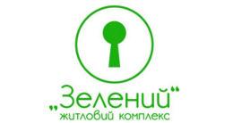 Логотип будівельної компанії БК ЖБК Зелений
