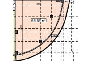 БЦ Idm Mall: планировка помощения 65.58 м²
