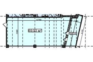 БЦ Idm Mall: планировка помощения 69.03 м²
