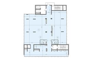 БЦ Level: планировка помощения 636.4 м²