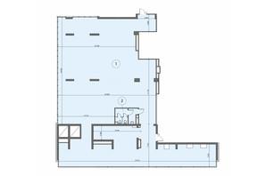 БЦ Level: планировка помощения 425.7 м²