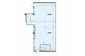БЦ Level: планування приміщення 194 м²