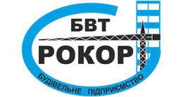 Логотип будівельної компанії БВТ Рокор