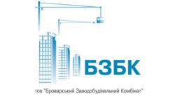 Логотип строительной компании БЗСК (Броварской заводостроительный комбинат)