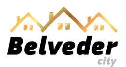 Логотип будівельної компанії Belveder City