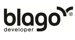 Логотип строительной компании Blago developer (Благо Девелопер)