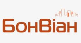 Логотип строительной компании БонВиан