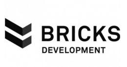 Логотип будівельної компанії Bricks Development (Брікс Девелопмент)