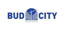 Логотип строительной компании Буд сити (Bud City)