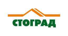 Логотип строительной компании Будівельна компанія Стоград