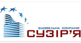 Логотип строительной компании Будівельна компанія Сузір'я