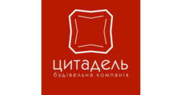 Логотип строительной компании Будівельна компанція Цитадель
