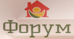 Логотип будівельної компанії Будівельнаа компанія Форум