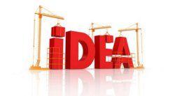 Логотип будівельної компанії Будівельно-обслуговуючий кооператив ІДЕЯ