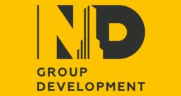 Логотип строительной компании Будівнича компанія «Новий дім»