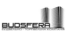 Логотип строительной компании Будсфера