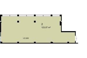 Бизнес Центр Q-5  Quoroom Office Metropol: планировка помощения 123.07 м²