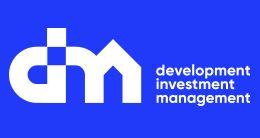 Логотип строительной компании DIM (Дим)