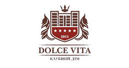 Логотип строительной компании DOLCE VITA