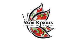 Логотип будівельної компанії Девелоперська компанія МОЯ КРАЇНА