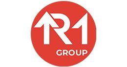 Логотип строительной компании Девелоперская группа R1