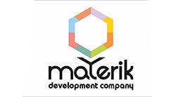 Логотип будівельної компанії Development company Materik