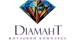 Логотип будівельної компанії Діамант