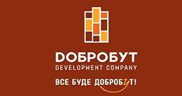 Логотип будівельної компанії Добробут Development Company
