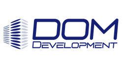 Логотип будівельної компанії Domdevelopment