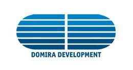 Логотип строительной компании Domira Development