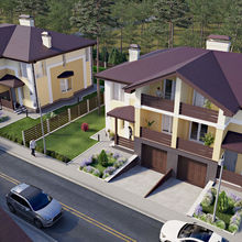 Дуплекс NEW Cottage Residence 2