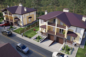 Дуплекс NEW Cottage Residence 2
