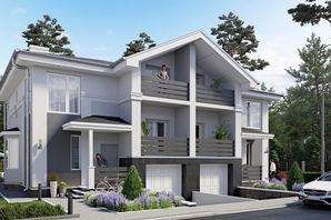Дуплекс NEW Cottage Residence 3