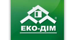 Логотип будівельної компанії ЕКО ДІМ