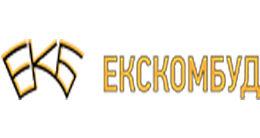Логотип будівельної компанії ЕКСКОМБУД