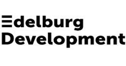 Логотип будівельної компанії Edelburg Development (Эдельбург Девелопмент)