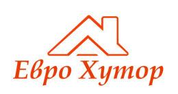 Логотип строительной компании Еврохутор