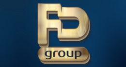 Логотип строительной компании FD group
