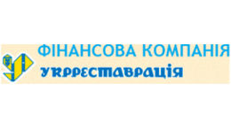 Логотип будівельної компанії ФК Укрреставрація