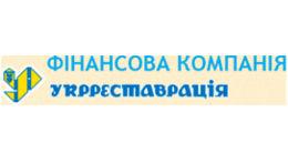Логотип строительной компании ФК Укрреставрация