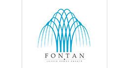 Логотип строительной компании FONTAN