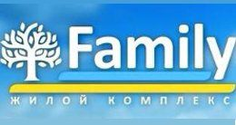 Логотип будівельної компанії Family