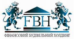 Логотип будівельної компанії Фінансовий будівельний холдінг
